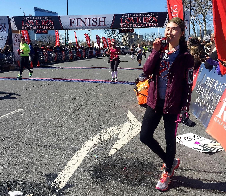 Claire Runs Philadelphia Half Marathon